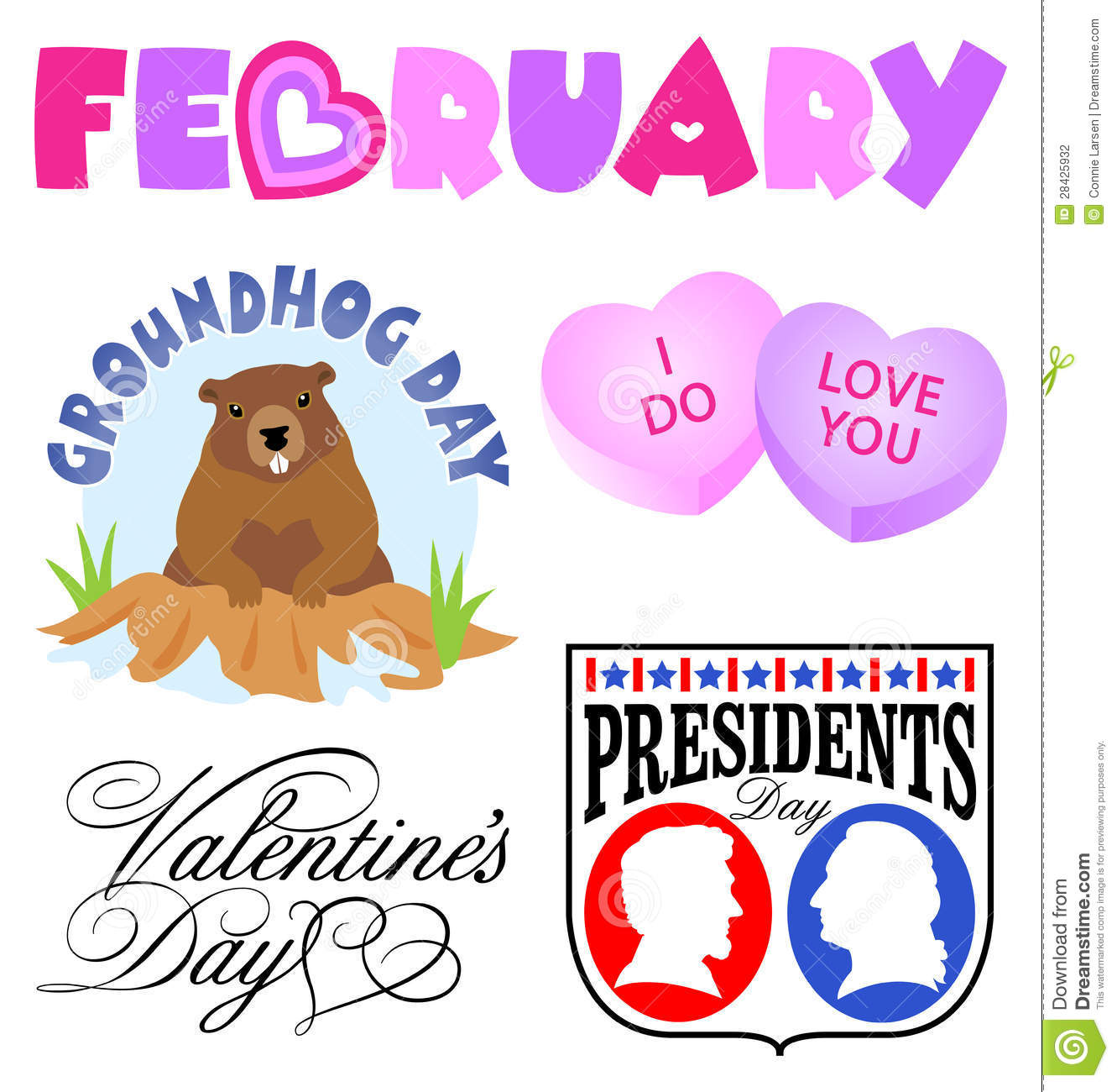 Groundhog clipart february newsletter.  collection of free