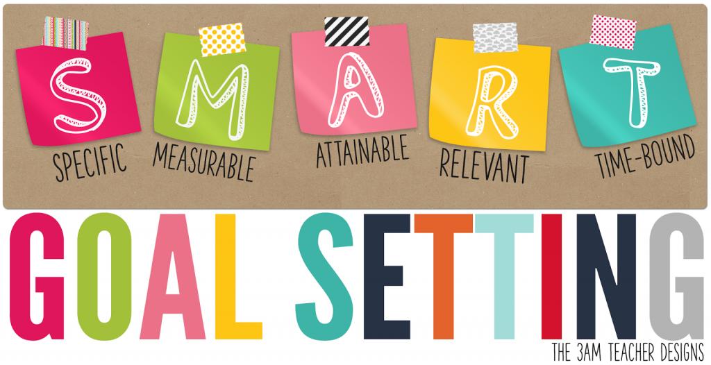 Setting s m a. Goals clipart realistic goal
