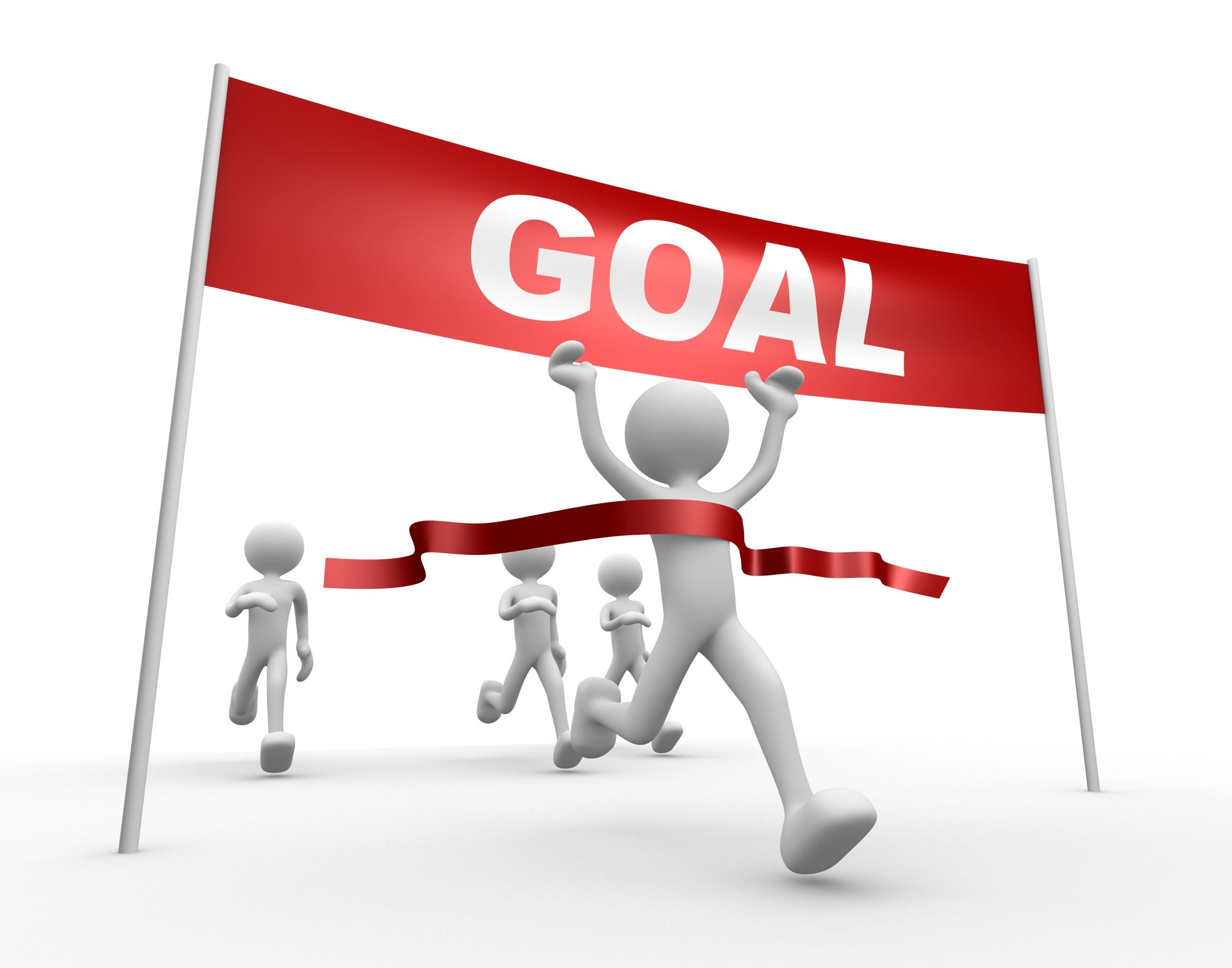 Make your dreams a. Goal clipart goal met