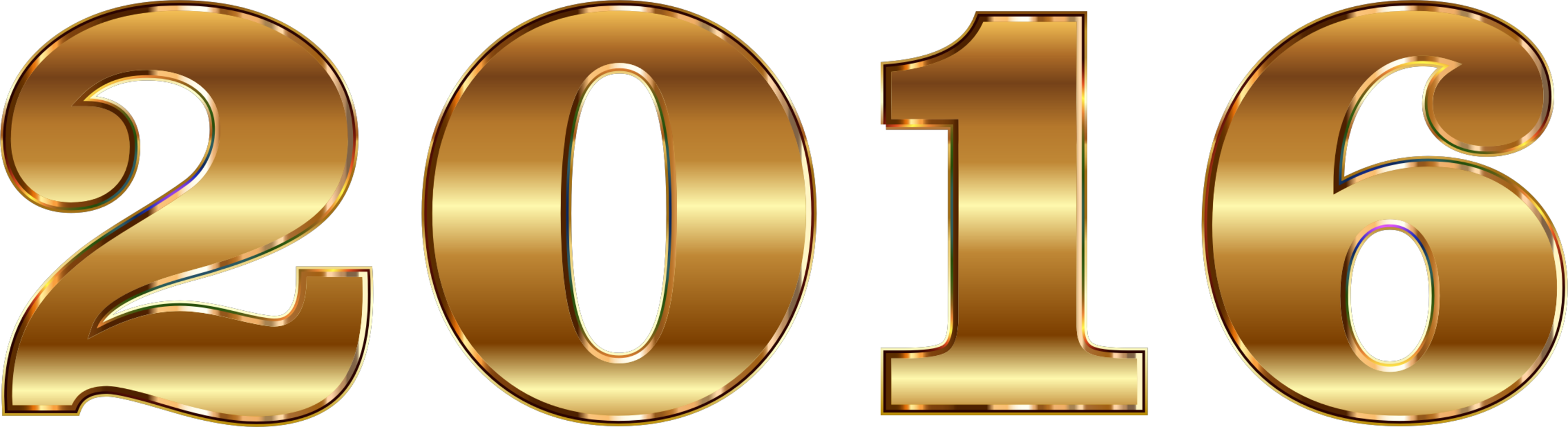 2016 clipart gold. Text symbol png royalty