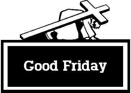 2016 clipart good friday. Walking together in faith