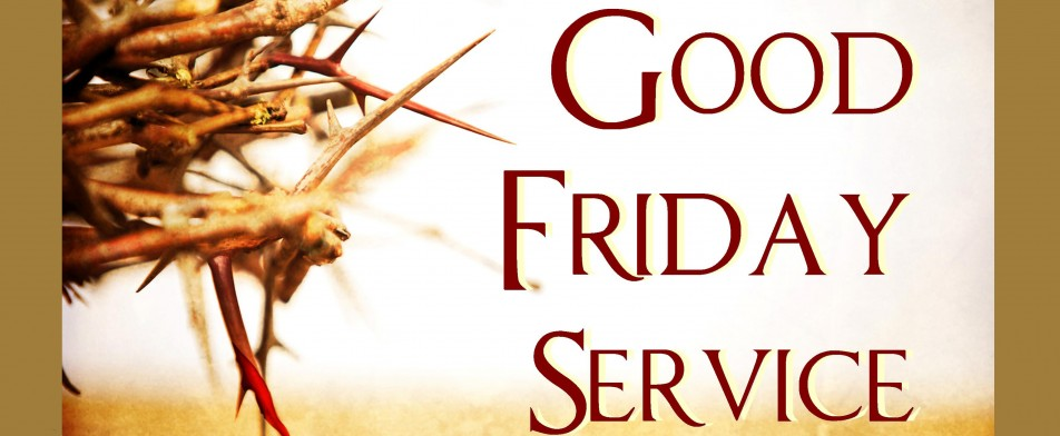 Community service at first. 2016 clipart good friday