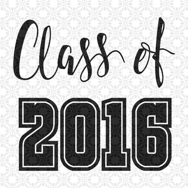 2016 clipart graduation. High school class of