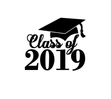2018 clipart graduation hat. Pin on senior year