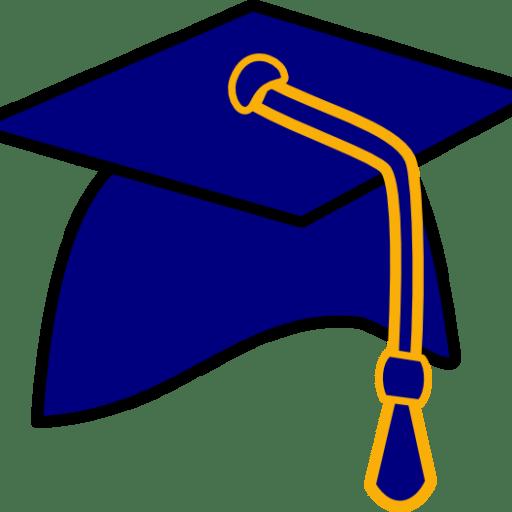 2016 clipart graduation hat. Cropped free clip art