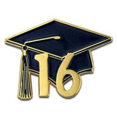 Class of female grad. 2016 clipart graduation hat