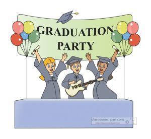 2016 clipart graduation party. Free clip art clipartix