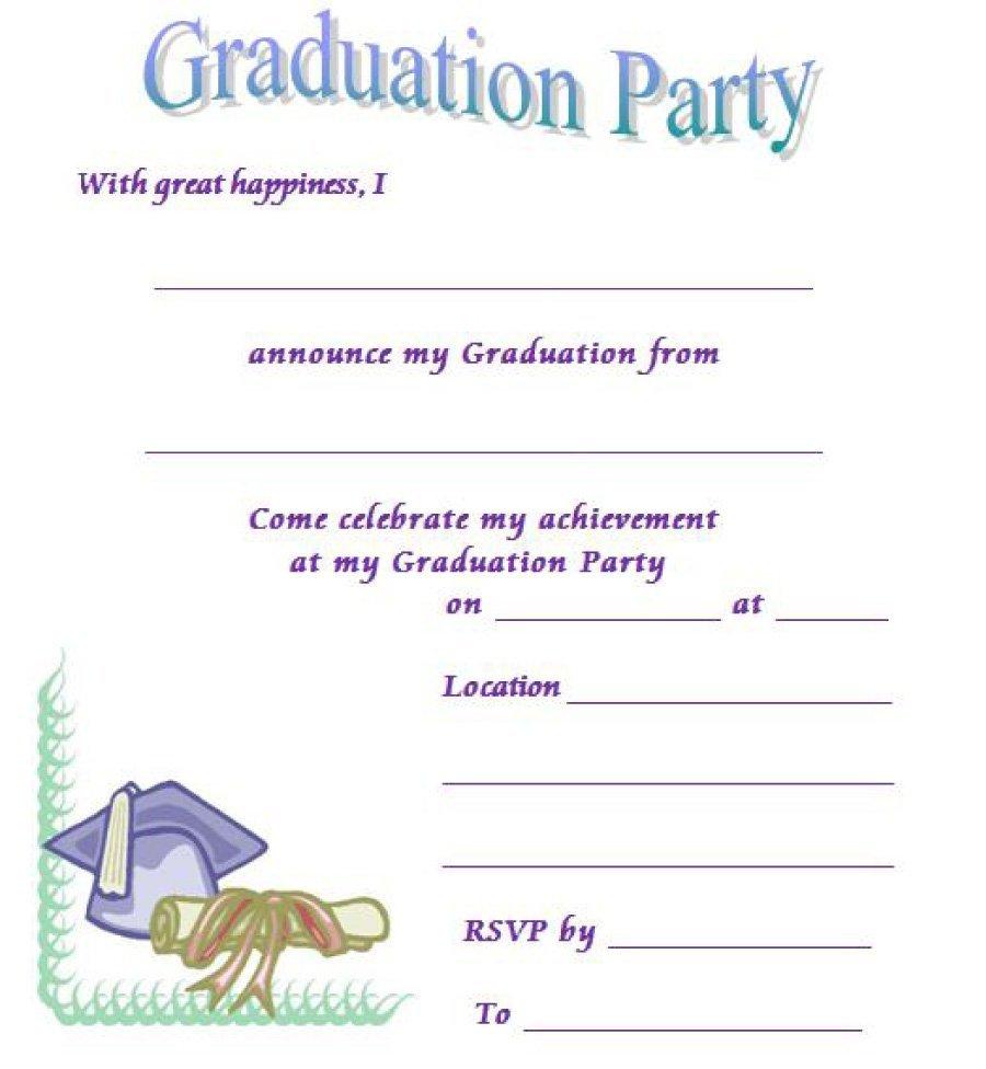 2016 clipart graduation party.  free invitation templates