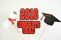 centerpiece sticks set. 2016 clipart graduation party