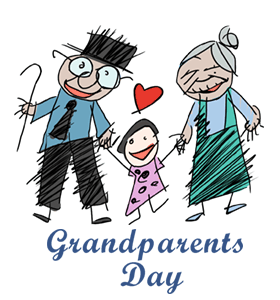 2016 clipart grandparents day. Calendar history facts when