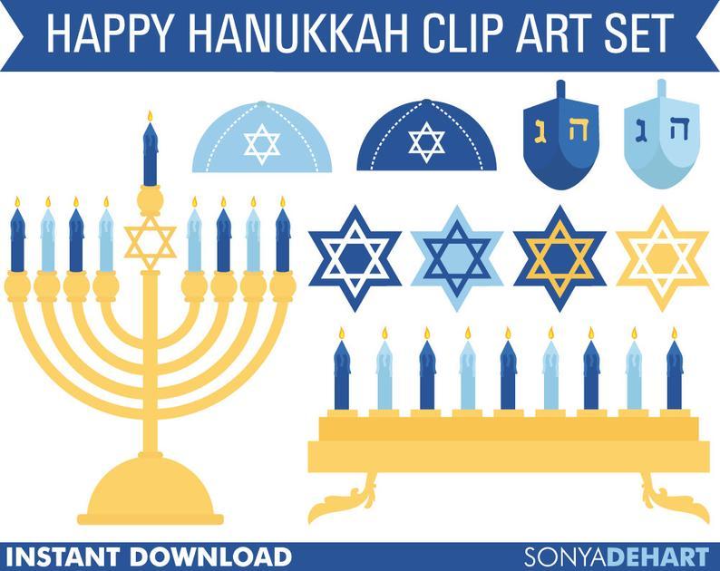 Hanukkah clipart judaism. Clip art chanukah jewish