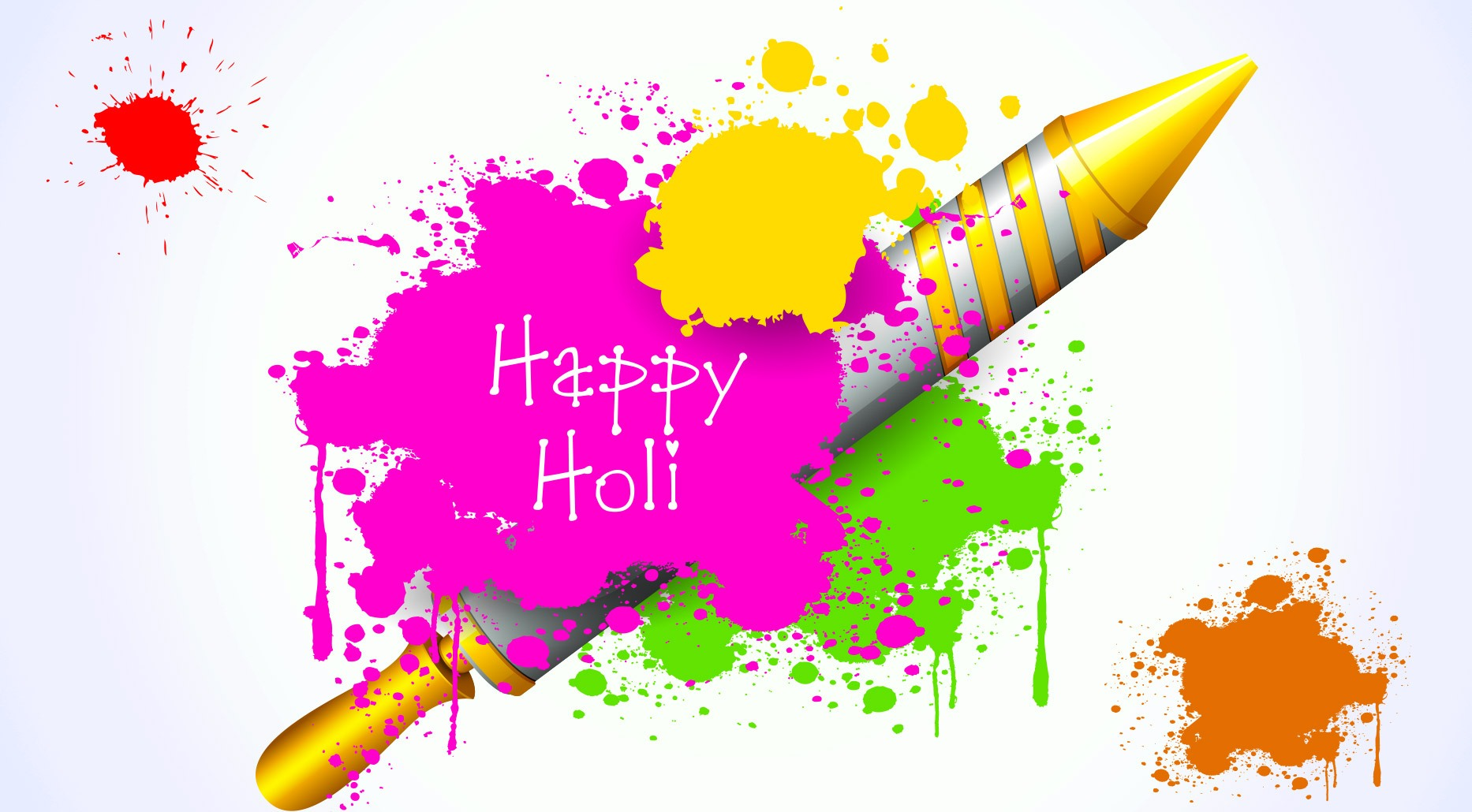 Happy wishes messages sms. 2016 clipart holi