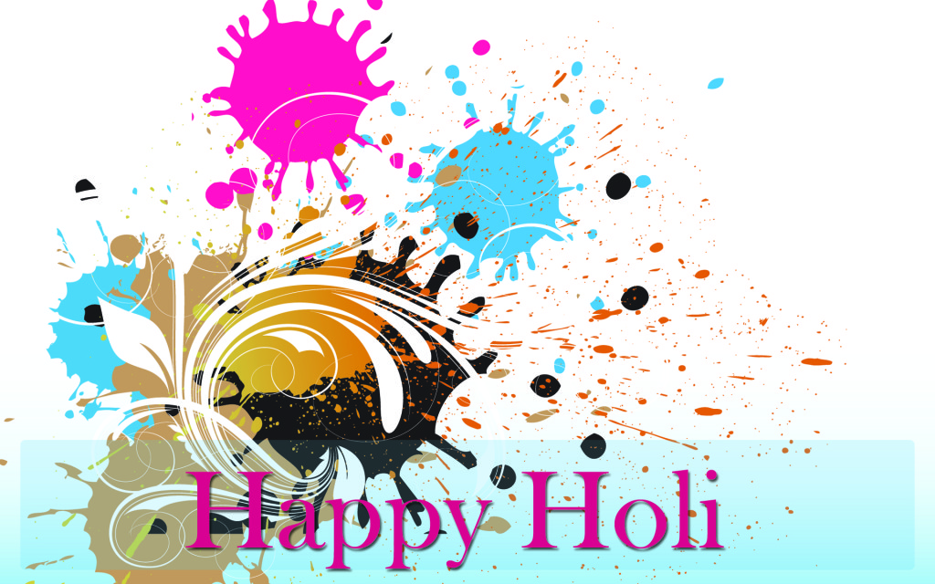 best happy wish. 2016 clipart holi