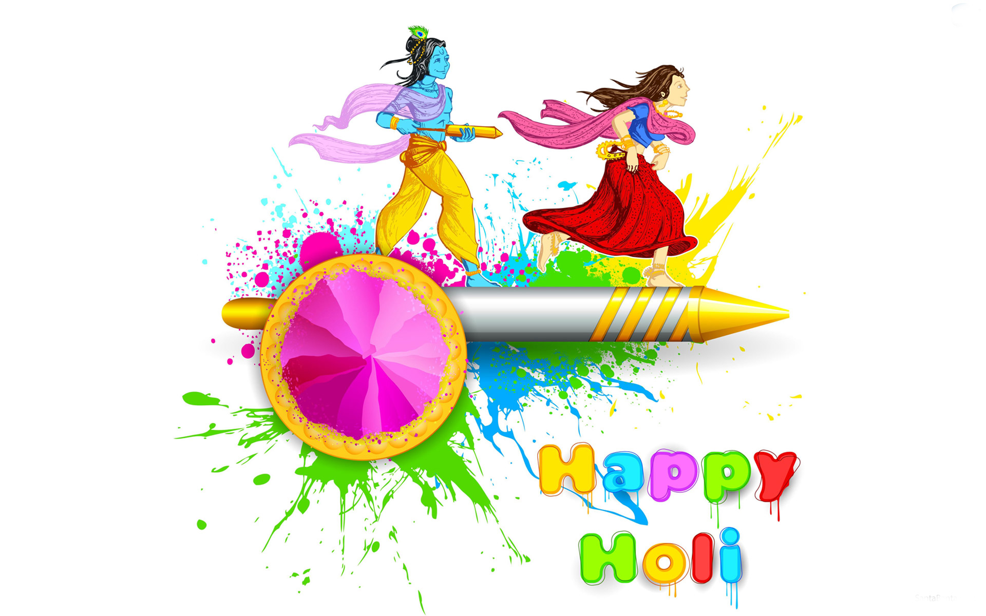 2016 clipart holi.  happy whatsapp dp