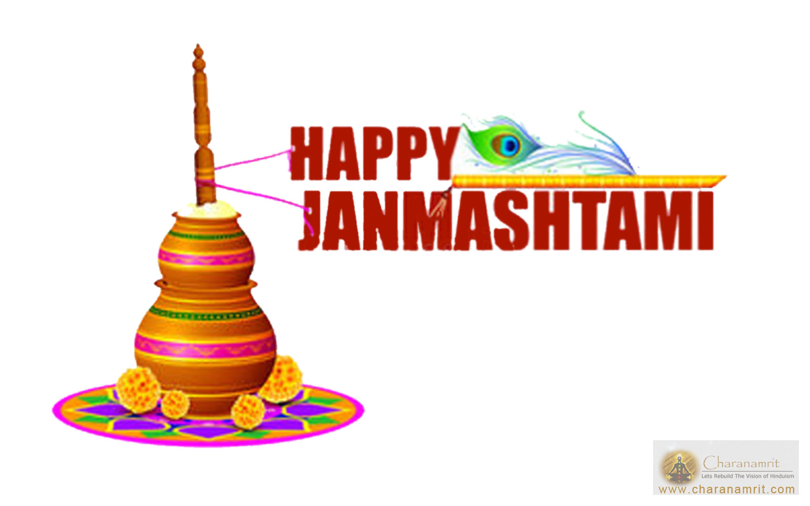 Happy krishna hd wallpapers. 2016 clipart janmashtami