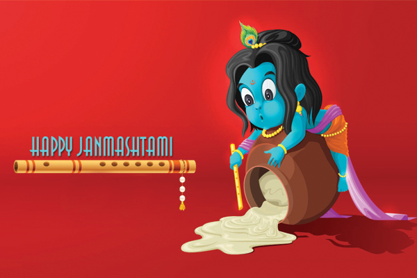 Types and significance of. 2016 clipart janmashtami