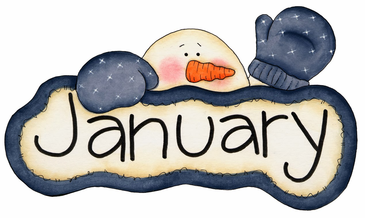 Pretentious idea month clip. 2016 clipart january