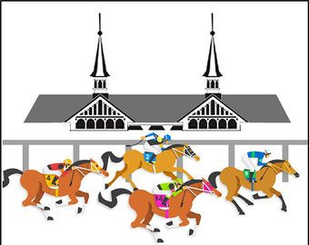 Churchill downs etsy in. 2016 clipart kentucky derby