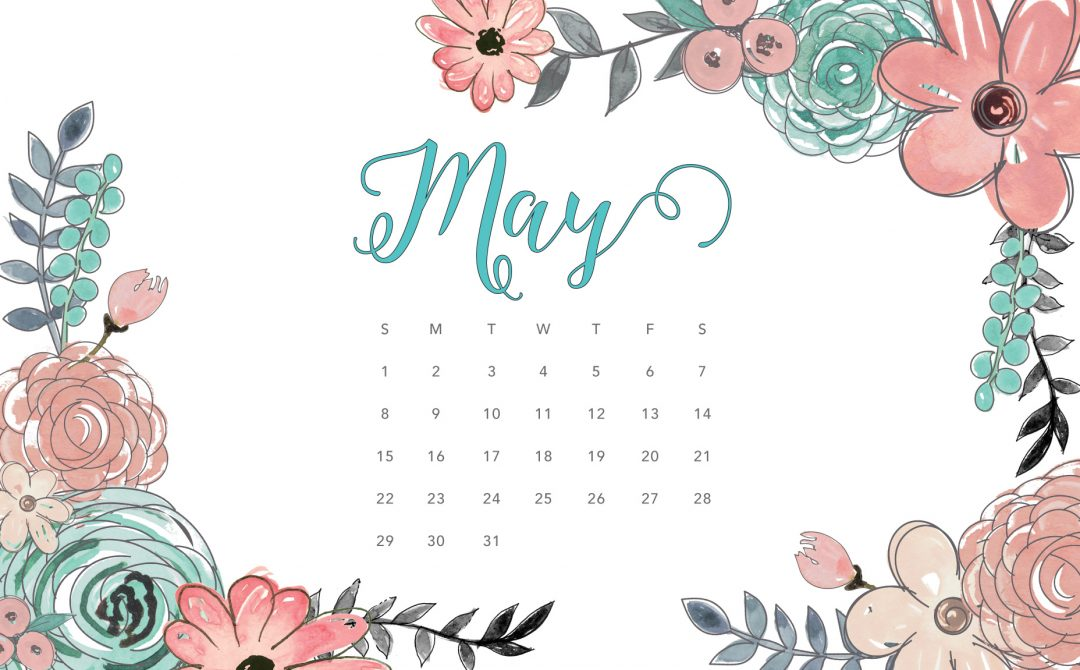 Calendar tech pretties dawn. 2016 clipart may 2016