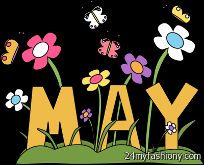 2016 clipart may 2016. Month of clip art