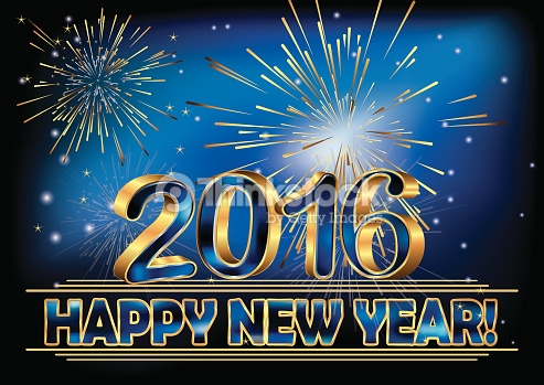 New year eve clip. 2016 clipart news years day