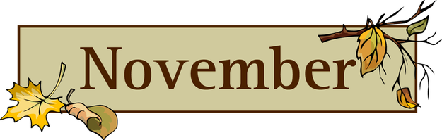 2016 clipart november. October still learning something