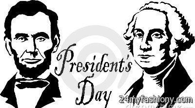 Clip art black and. 2016 clipart presidents day
