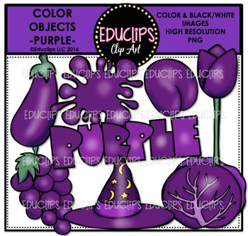 2016 clipart purple. Color objects clip art