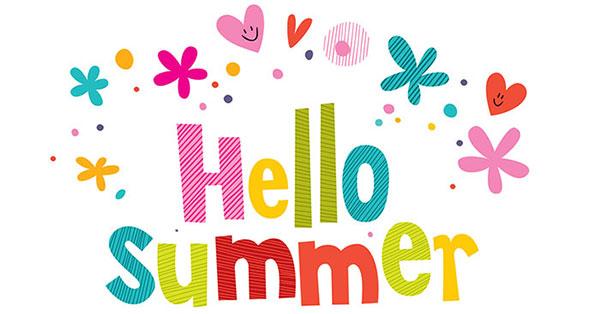 Hello free printable calendar. 2016 clipart summer