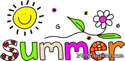 Vacation clip art images. 2016 clipart summer
