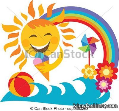 2016 clipart summer. Vacation clip art images