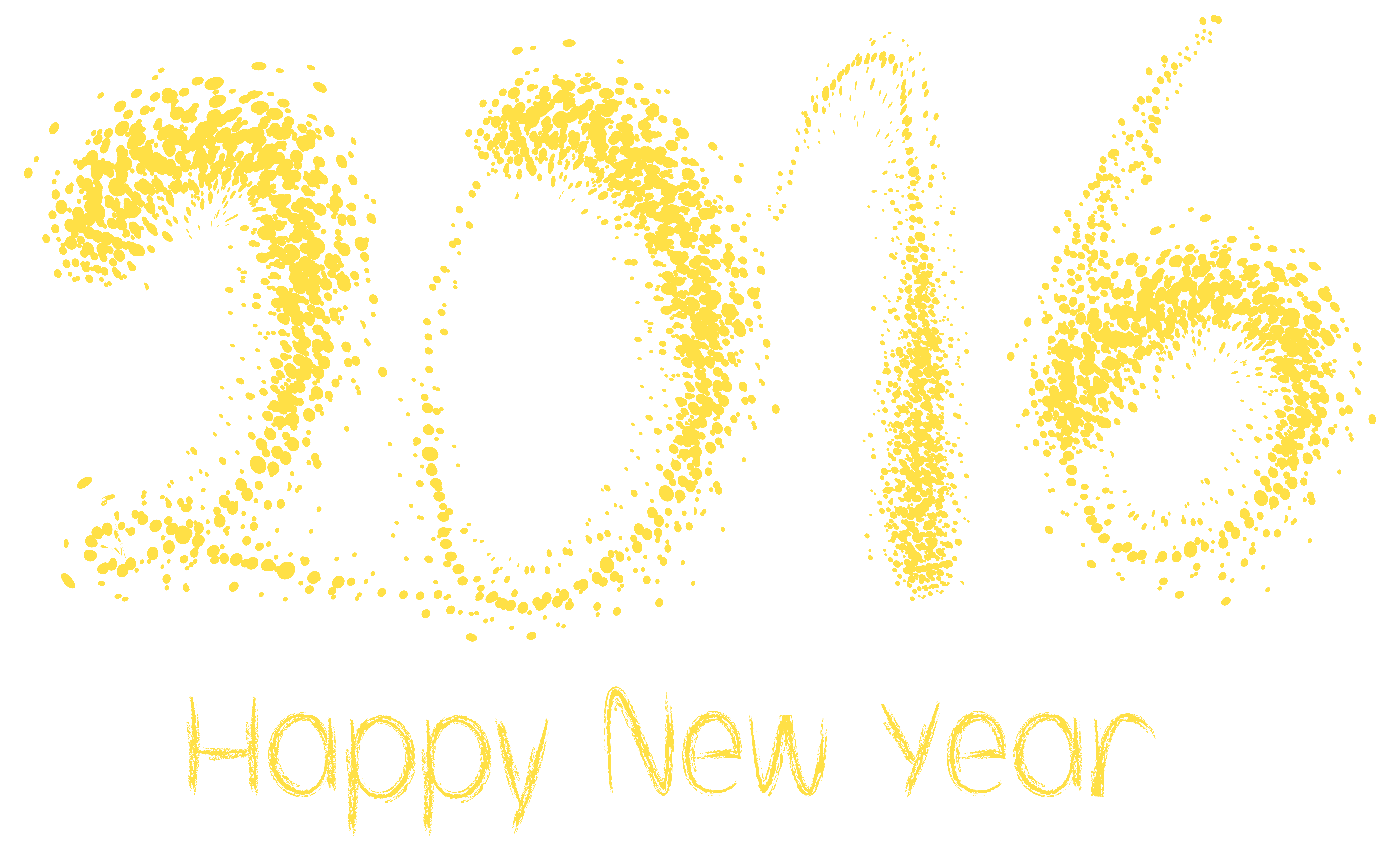 new year png. 2016 clipart transparent