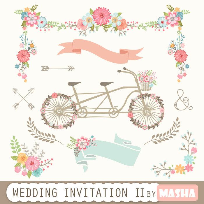 2016 clipart wedding. Invitation ii