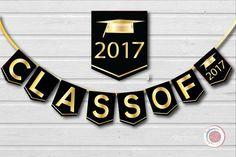 2017 clipart banner. Graduation class of grad