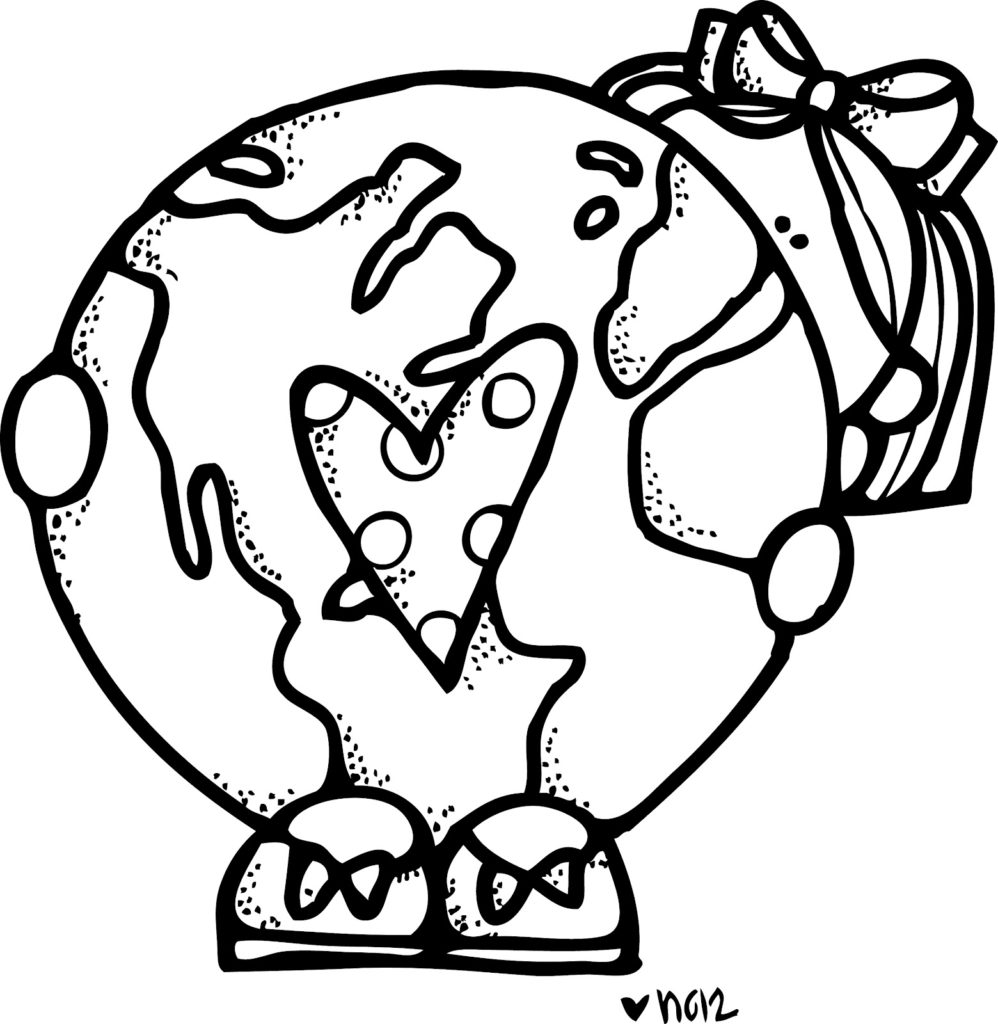 2017 clipart black and white.  best earth day