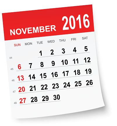 Free november cliparts download. 2017 clipart calendar