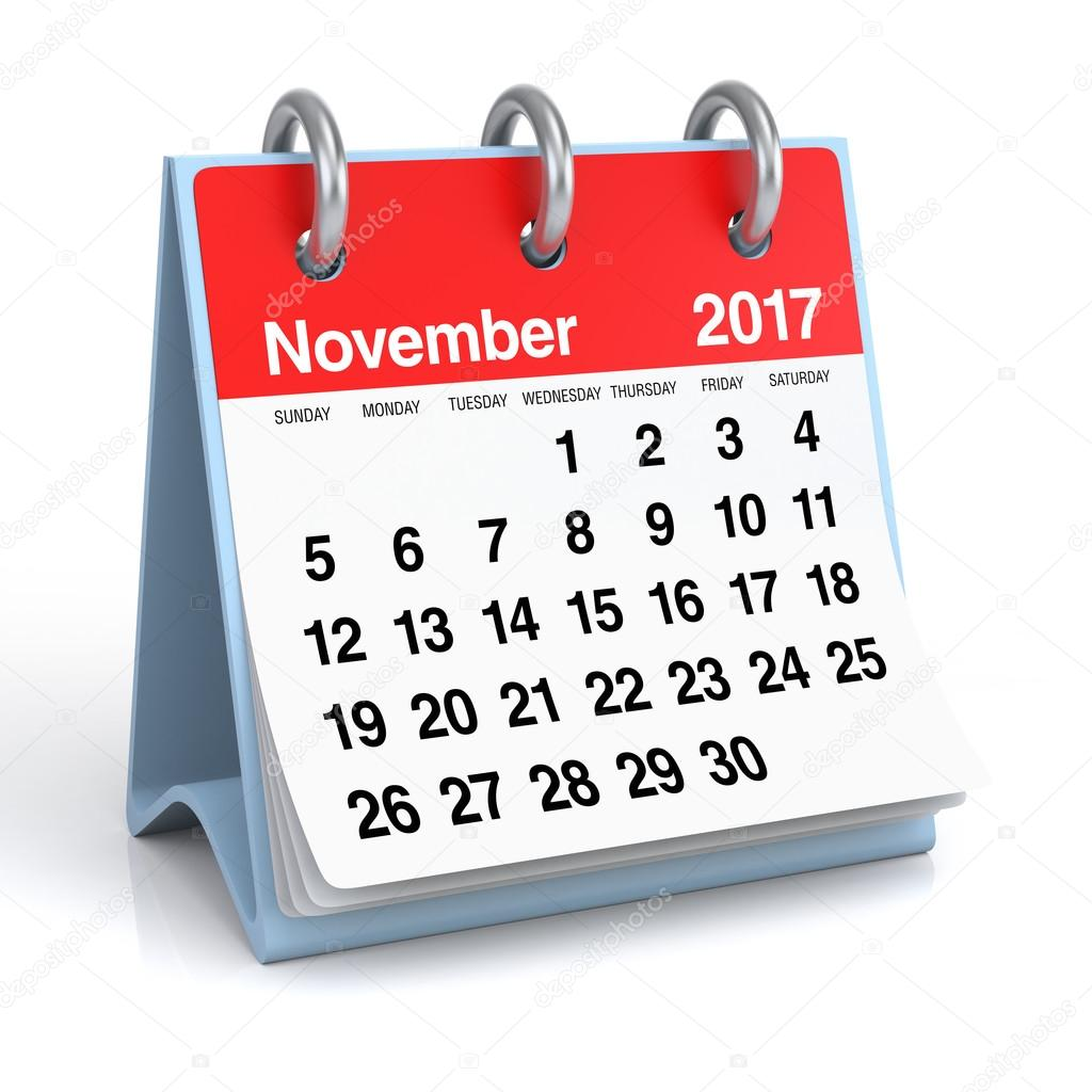 November incep imagine ex. Calendar clipart clip art