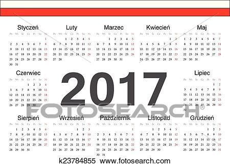 2017 clipart calendar. Portal