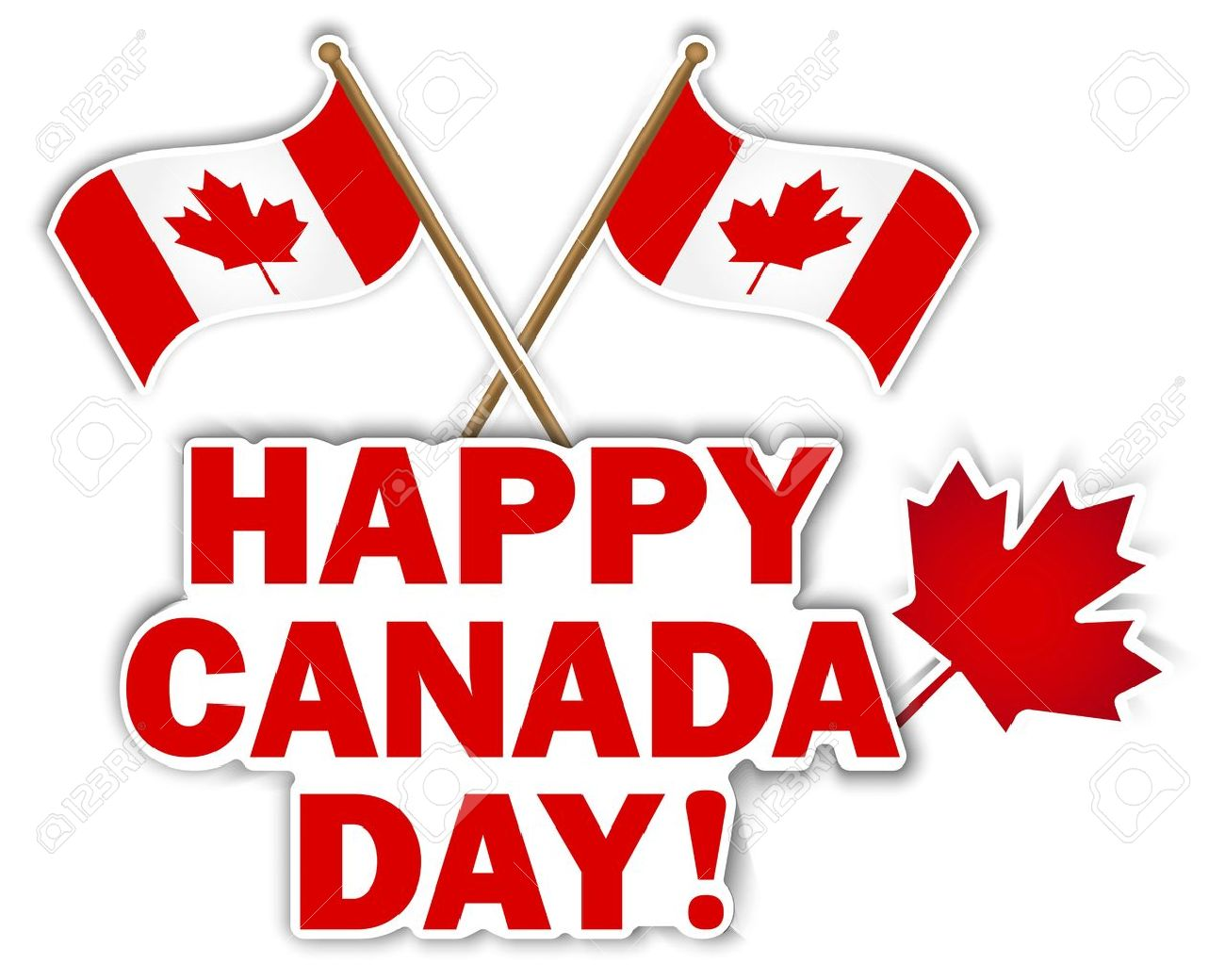 Happy station . 2017 clipart canada day