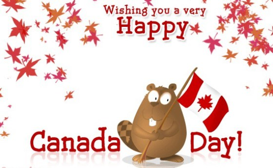 2017 clipart canada day. Happy july wishes greeting