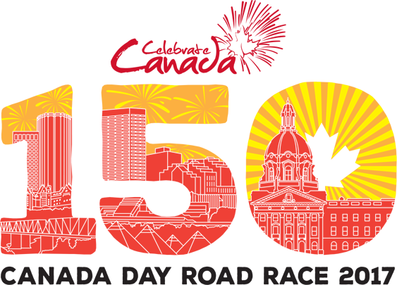 Running room online event. 2017 clipart canada day