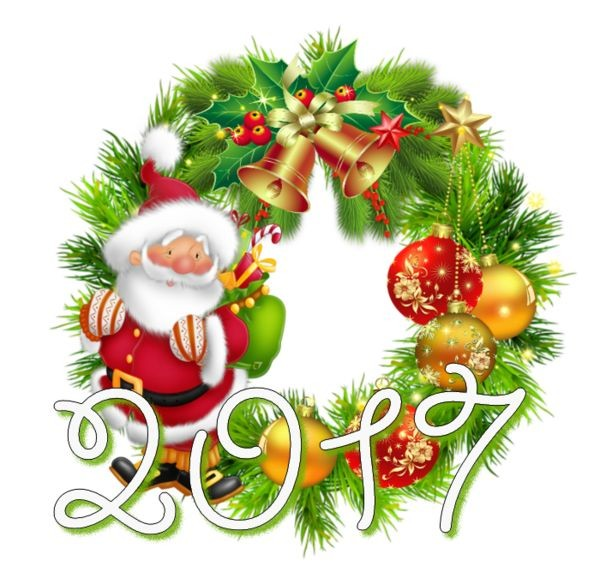 best new year. 2017 clipart christmas