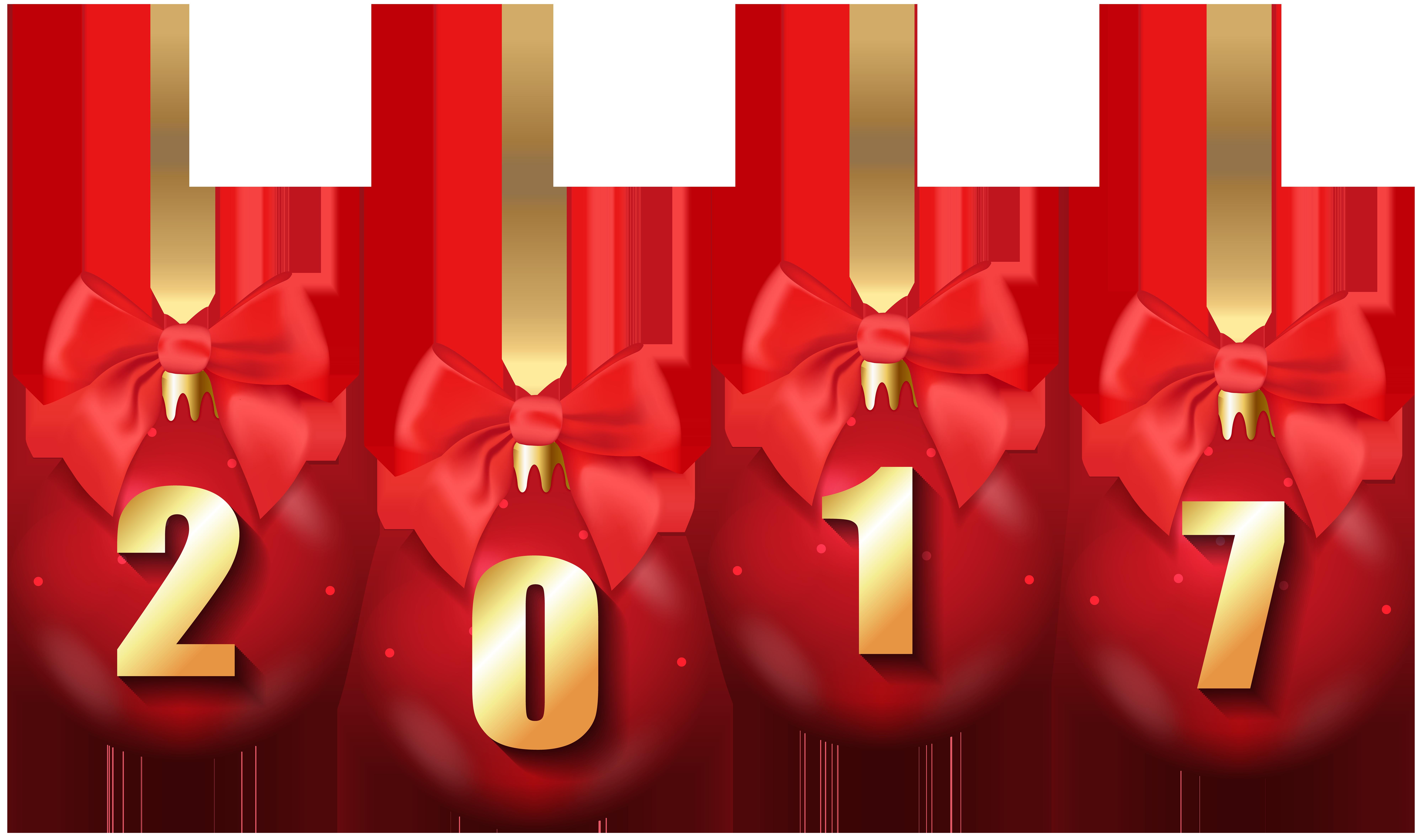 2017 clipart christmas.  balls transparent png