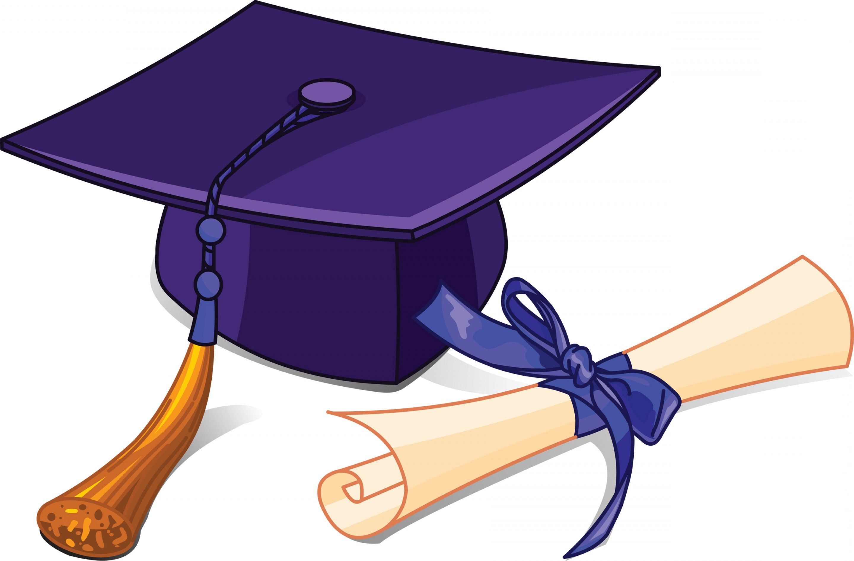 Graduate clipart high school graduate. Free graduation clip art