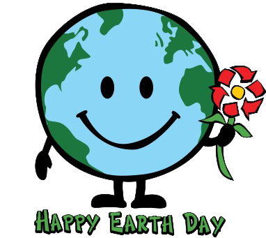2017 clipart earth day. Happy smiling