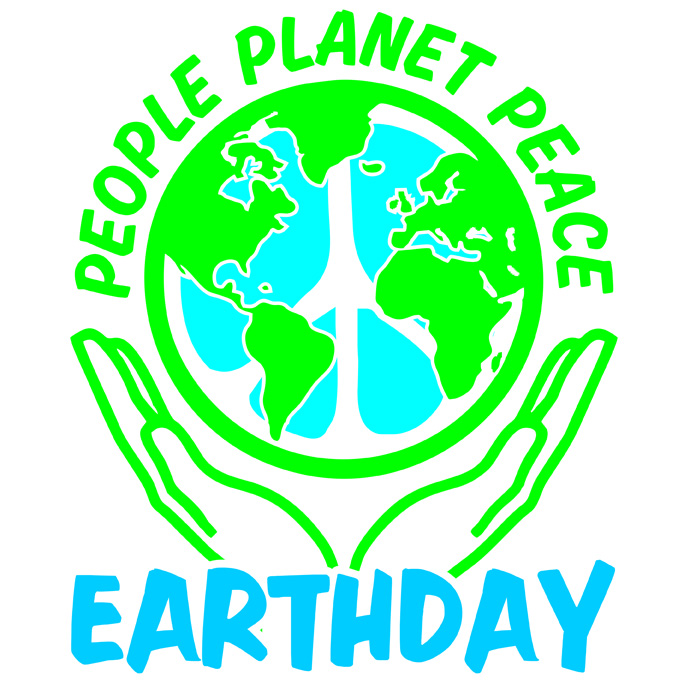People planet peace . 2017 clipart earth day