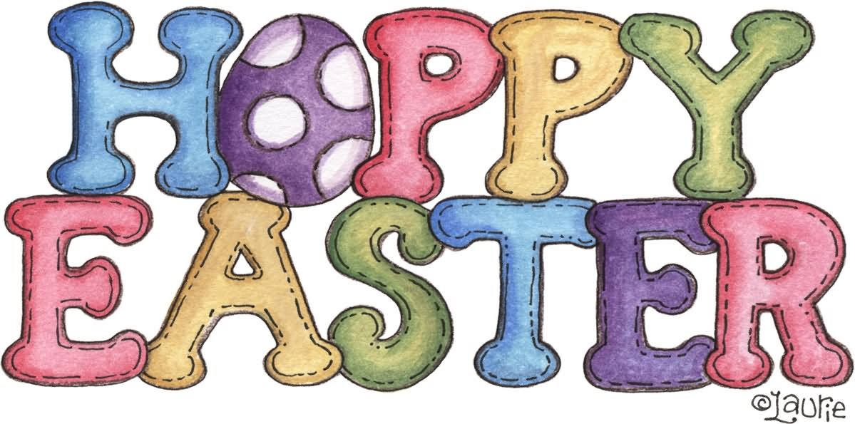 Happy clip art pictures. 2017 clipart easter