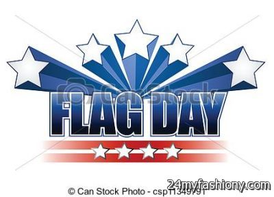 Clip art free images. 2017 clipart flag day