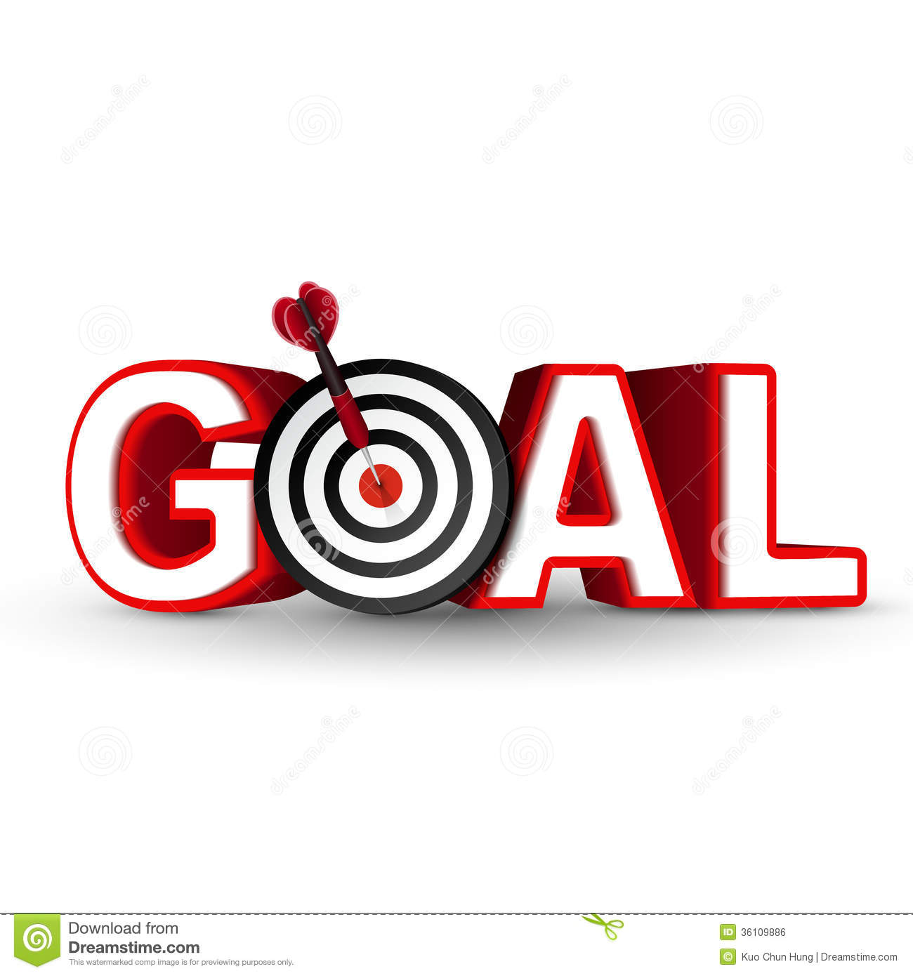 Goals clipart goal target. Clip art free panda