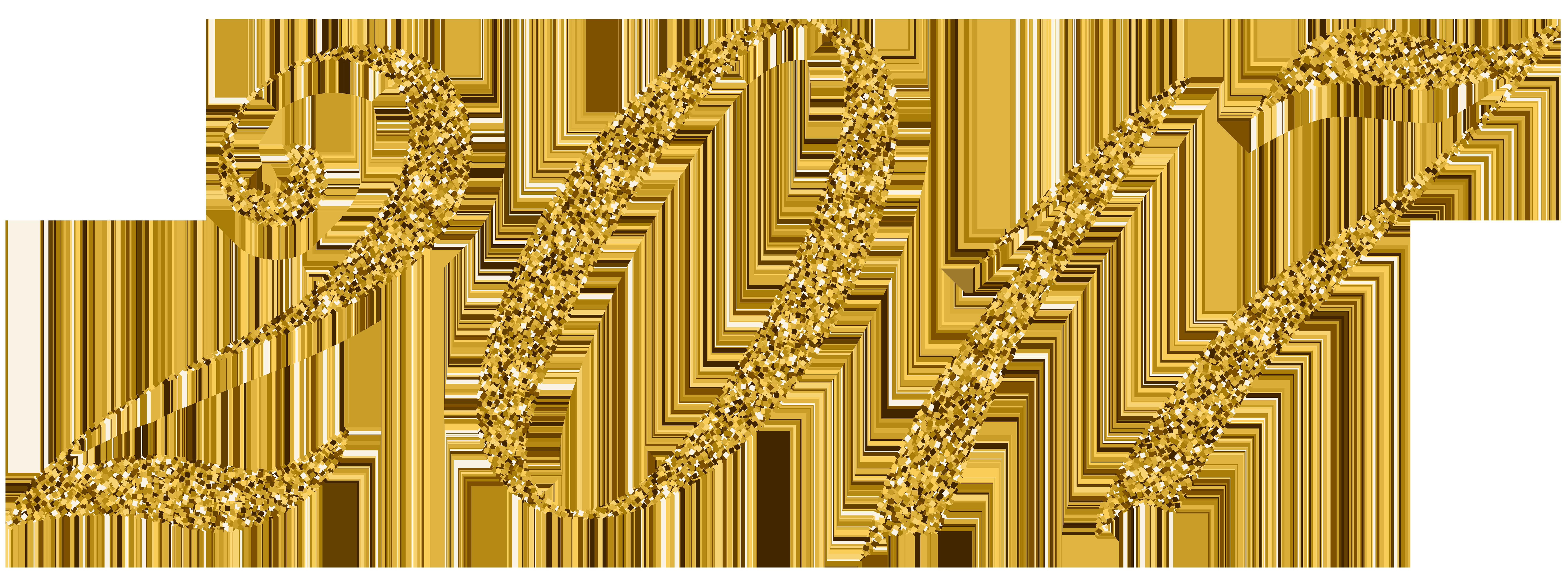 2017 clipart gold.  png clip art